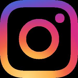 instagram logo and link